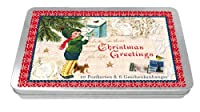 Postkarten-Dose: Christmas Greetings - F...