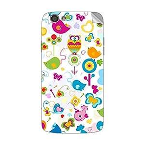 Garmor Designer Mobile Skin Sticker For XOLO A510S - Mobile Sticker