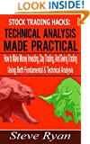 Stock Trading Hacks: Technical Analysis Made Practical: How to Make Money Investing, Day Trading, And Swing Trading Using Both Fundamental & Technical ... (How to Invest in the Stock Market Book 2)