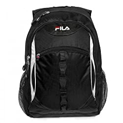 Fila Dome 15 6 in Laptop Backpack Bag Black
