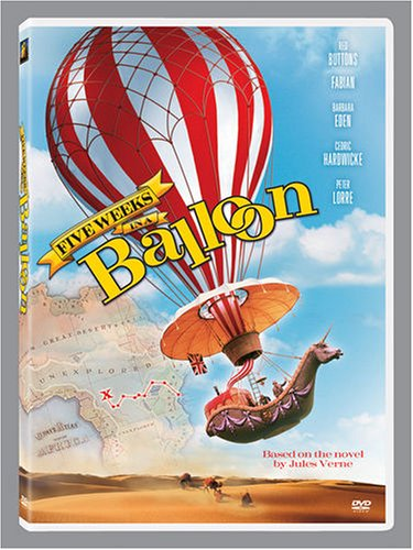Five Weeks in a Balloon [DVD] [1962] [Region 1] [US Import] [NTSC]