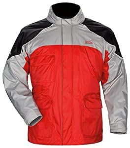 Tourmaster SENTINEL RAIN JACKET RED LRG