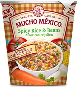 Mucho Mexico Spicy Rice and Beans, 2.12 Ounce (Pack of 12) by Mucho Mexico