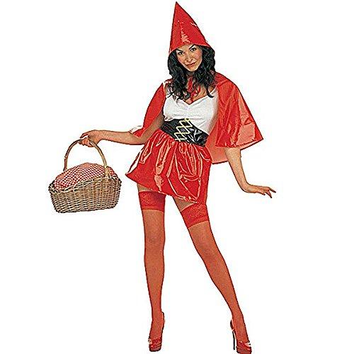 Kostüm Sexy Lack Rotkäppchen Gr.M