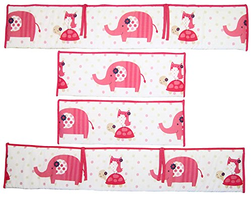 Lambs & Ivy Gingersnap Ellie Crib Bumper