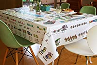 Children's Tablecloth, Mostly Math, Pre-k and kindergarten level by Table-Time Look & Learn