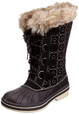Karrimor Women's Flurry Weathertite Black/Grey Snow Boot K520-BKG-151 7 UK, 41 EU, 8 US
