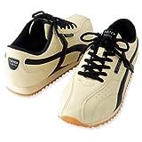[AITOZ]アイトス 51610_002 24cm TULTEX タルテックス セーフティーシューズ 作業靴 鋼製先芯 スポーティ 3E ベージュ×ブラック