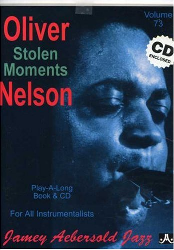 STOLEN MOMENTS (PLAY-A-LONG BOOK & CD)