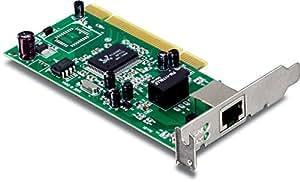 TRENDnet 10/100/1000 Mbps 32-Bit Gigabit PCI Adapter Card, TEG-PCITXR