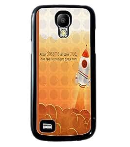 PrintVisa Metal Printed Quotes Designer Back Case Cover for Samsung Galaxy S4 Mini I9190/ I9192-D4979