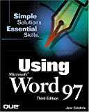 img - for Using Microsoft Word 97 (3rd Edition) book / textbook / text book