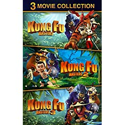 Kung Fu Masters 1+2+3 Pack