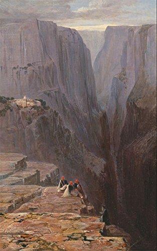 god-art-canvas-art-prints-oil-painting-frameless-giclee-world-famous-artist-oil-painting-edward-lear