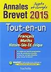 Annales Brevet 2015 sujets et corrig�...