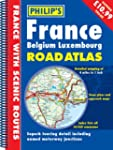 France, Belgium, Luxemborg Road Atlas...