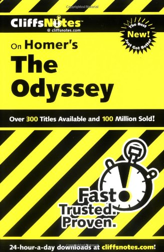 CliffsNotes on Homer's Odyssey (Cliffsnotes Literature)