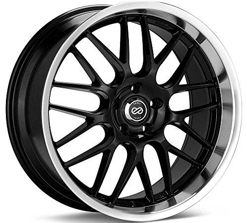 18x8 Enkei Lusso (Black) Wheels/Rims 5x114.3 (469-880-6540BK) (Honda Accord Sedan Rims compare prices)