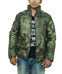 Pragati Traders Men's Polyester Jacket (S-2_XL_Multicolor_X-Large)