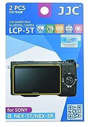 JJC LCP-5T ultra hard polycarbonate LCD Film Screen Protector For Sony NEX-5T / NEX-5R (2 Kits)