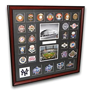 MLB New York Yankees World Series Framed Patch Collection by Sports Images