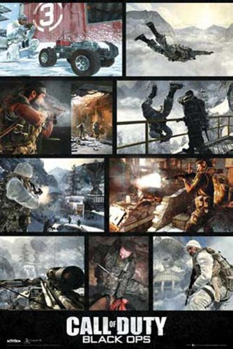 Poster Call Of Duty: Black Ops, Screenshots + accessori multicolore
