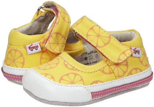 See Kai Run Baby Girls' Smaller Valencia (Infant) - Yellow - 12-18 Months