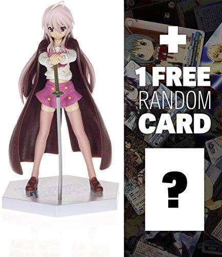 "Shana (Game Version): ~6"" Dengeki Bunko Fighting Climax Ignition x Shakugan no Shana PM Figure + 1 FREE Anime Themed Trading Card Bundle (1013037)"
