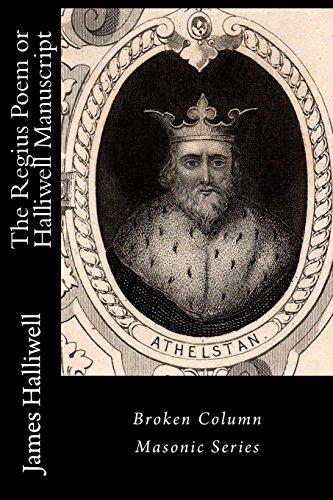 The Regius Poem or Halliwell Manuscript