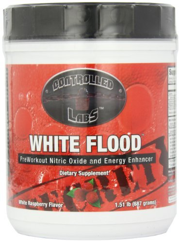 Tons of extra energy and true muscle building potential. – White Flood Powder