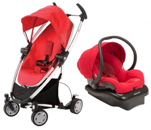 Quinny Zapp Xtra Mico Ap Travel System - Red - Rebel Red front-747254
