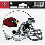 "NFL Arizona Cardinals 4.5"" x 6"" Team Helmet Ultra Decal Cling"