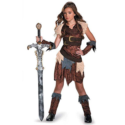 Barbarian Beauty Kids Costume