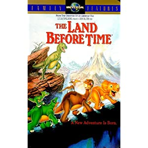 Amazon.com: The Land Before Time [VHS]: Pat Hingle, Gabriel Damon ...