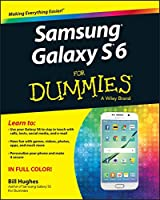 Samsung Galaxy S6 for Dummies Front Cover