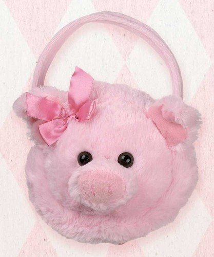 Bearington Bear Oinkers Carrysome Easter Purse