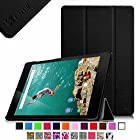Fintie Google Nexus 9 Case - Ultra Slim Lightweight Cover [SmartShell Series] with Auto Sleep / Wake Feature for Google Nexus 9 Tablet (8.9-Inch 2014 Model) by HTC, Black