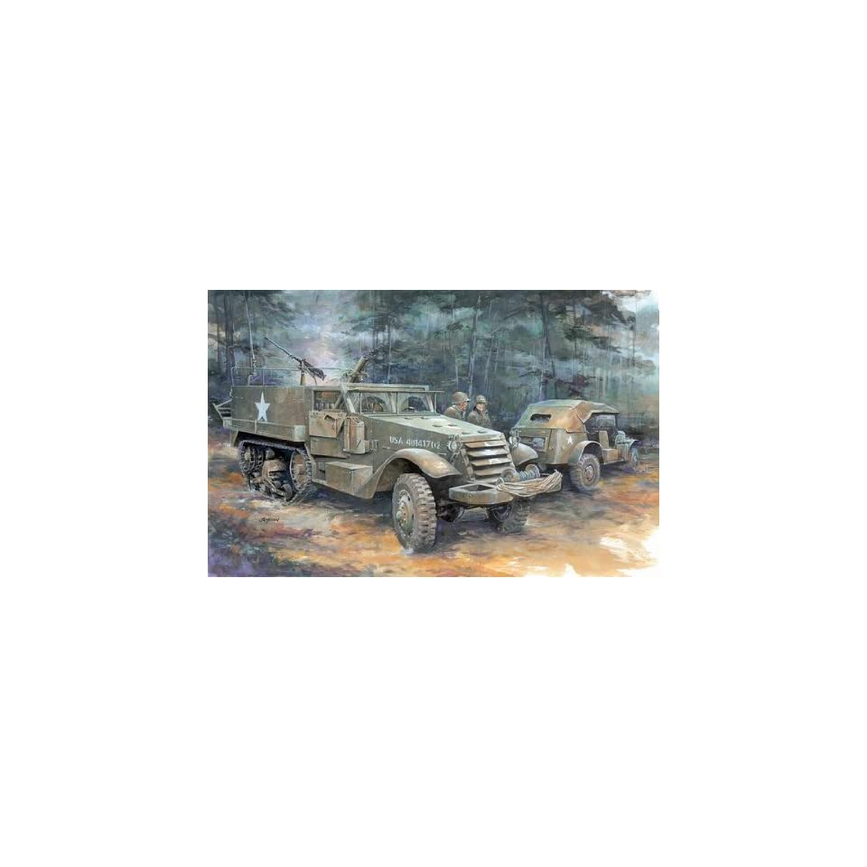 Allies armored military vehicle WWII World War 2 two II Toys & Games