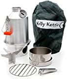 Camp Stove by Kelly Kettle. This Medium Aluminum Scout Cook Stove Complete Kit, is the perfect Camp Stove for Cooking, Hiking, Camping, Kayaking, Fishing, and Hunting. The very light and versatile Kelly Kettle Camp Stove is also ideal for Emergency Preparedness Kits, Disaster Kits or Bug Out Bags. You can be Prepared for any Disaster or Emergency with a Camping Stove by Kelly Kettle. Not only is this Volcano Stove the perfect Cook Stove for Emergency Preparedness, but it is also the ideal Cook Stove for Car Camping. Boy Scouts use the Kelly Kettle on all their campouts. The Kelly Kettle comes in 3 sizes. The Kelly Kettle Camping Stove you are buying is the Kelly Kettle Aluminum Medium Scout Kettle with the Complete Cookset and Pot Support for Cooking. Great for Boiling Water and Cooking Outdoors. For accessories go to Kelly Kettle USA. Com Statement will show a charge by Sephra Kelly.