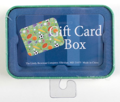 Christmas gift card holders tin box pack snowman and