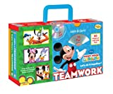 Disney Mickey Mouse Clubhouse: Teamwork, Let's Do It Together! (Learn & Carry)