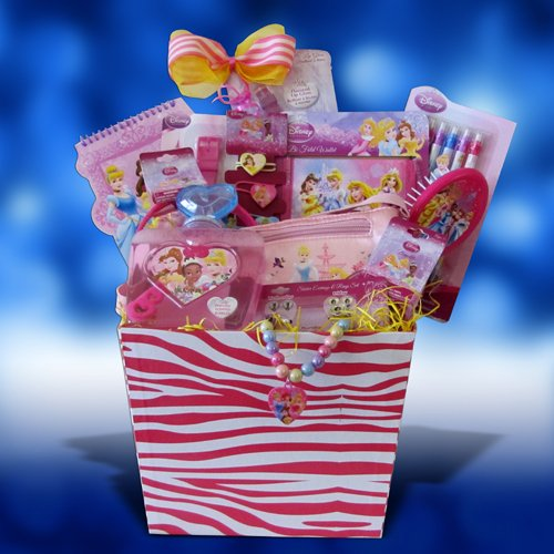 Disney Princess Accessory Gift Basket Perfect Birthday, Get Well Gift ...