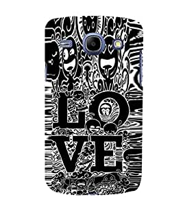 EPICCASE Zoozoo Love Mobile Back Case Cover For Samsung Galaxy Core (Designer Case)