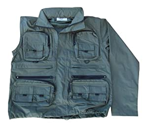 Benelle Convert Waterproof Fishing Jacket & Waistcoat