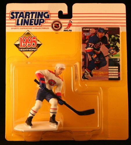 PIERRE TURGEON / MONTREAL CANADIENS 1995 NHL Starting Lineup Action Figure & Exclusive NHL Collector Trading Card - 1