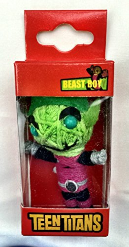 Teen Titans Dolls DC Comics Beast Boy String Doll Keychain