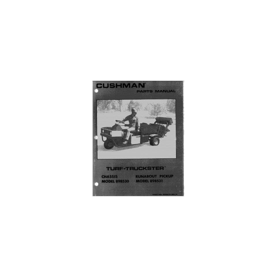 EZGO 828870 1982 1984 Parts Manual for Gas Cushman Turf Truckster Utility  Vehicles
