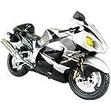 スカイネット 1/12 完成品バイク SUZUKI GSX1300R ハヤブサ (ブラック)