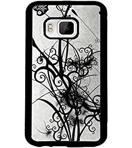 ColourCraft Beautiful Art Design Back Case Cover for HTC ONE M9