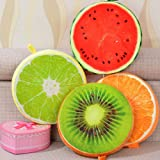Kids Mandi soft Plush Stylish Fruit Themed Cushion (Random Fruit will be delivered)